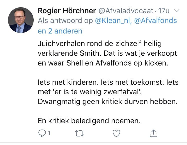 Rogier Hörchner tweet