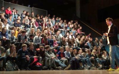 Gastles duurzaamheid op een middelbare school